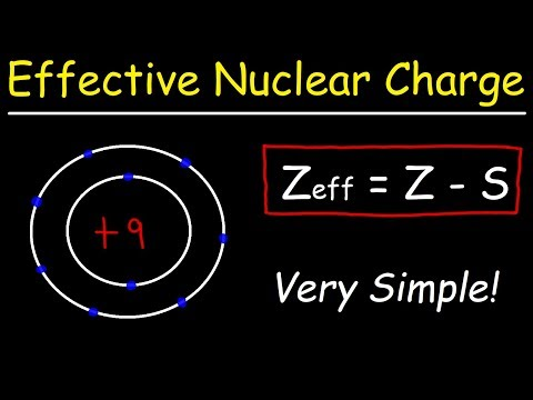 How To Calculate The Effective Nuclear Charge Of An Electron