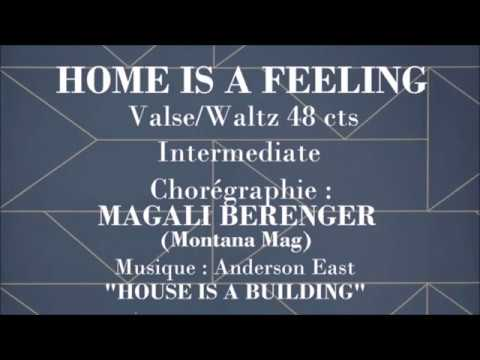 HOME IS A FEELING - Int. Waltz - MAGALI BERENGER (Montana Mag)