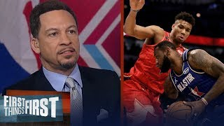 'The NBA All-Star game was the best I've seen in years' — Chris Broussard | NBA | FIRST THINGS FIRST