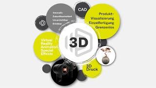 Vorstellungsvideo 3D Akademie Stuttgart - 3D/ CGI Weiterbildungen