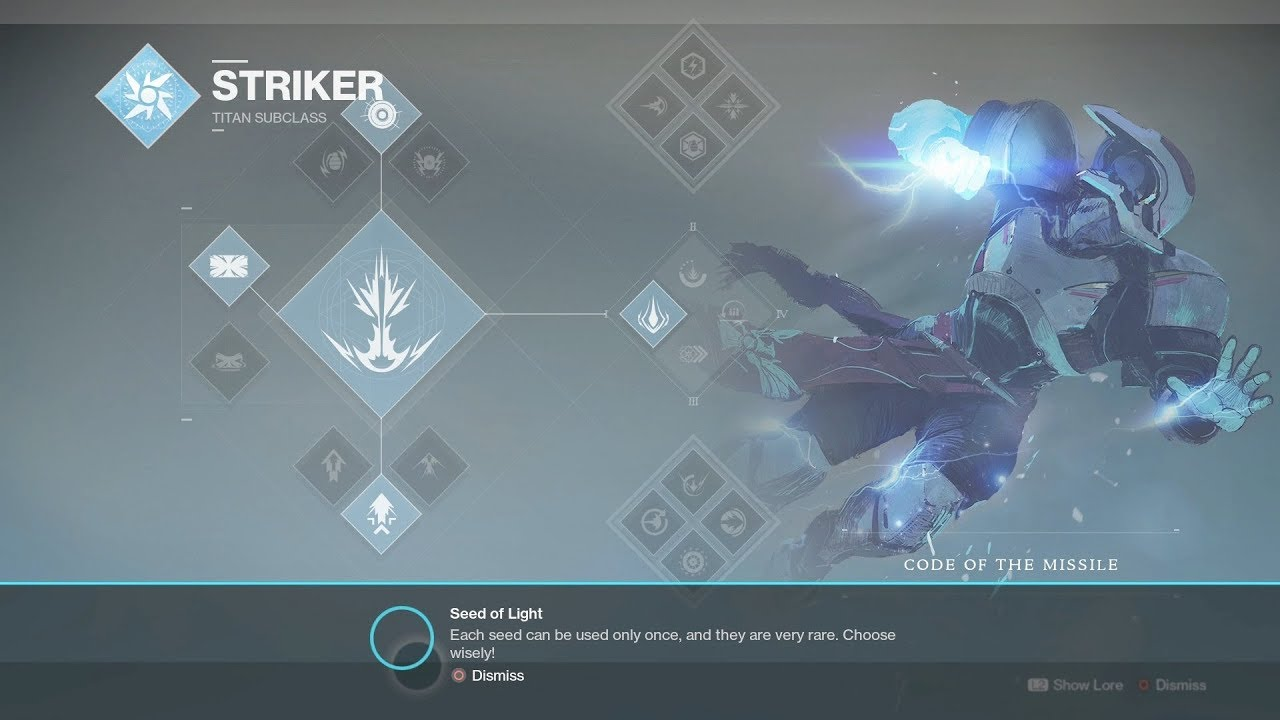 destiny 2 code of the missile
