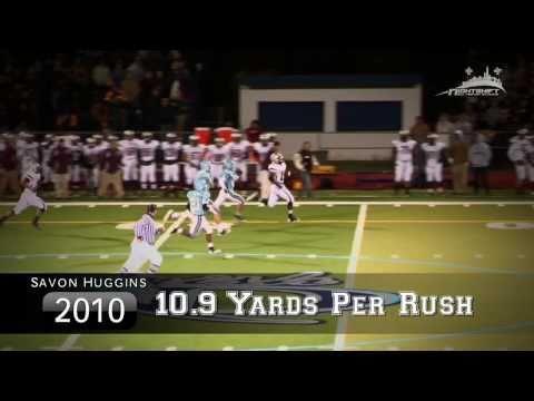 Savon Huggins 2010 Football Highlights