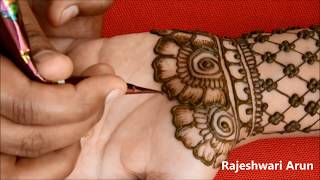 New latest Bridal Mehndi Designs For FullHands 2019*Latest Mehndi Designs For Beginners*Hennadesigns