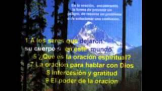Tercer Testamento CD07   3 La oración para hablar con Dios