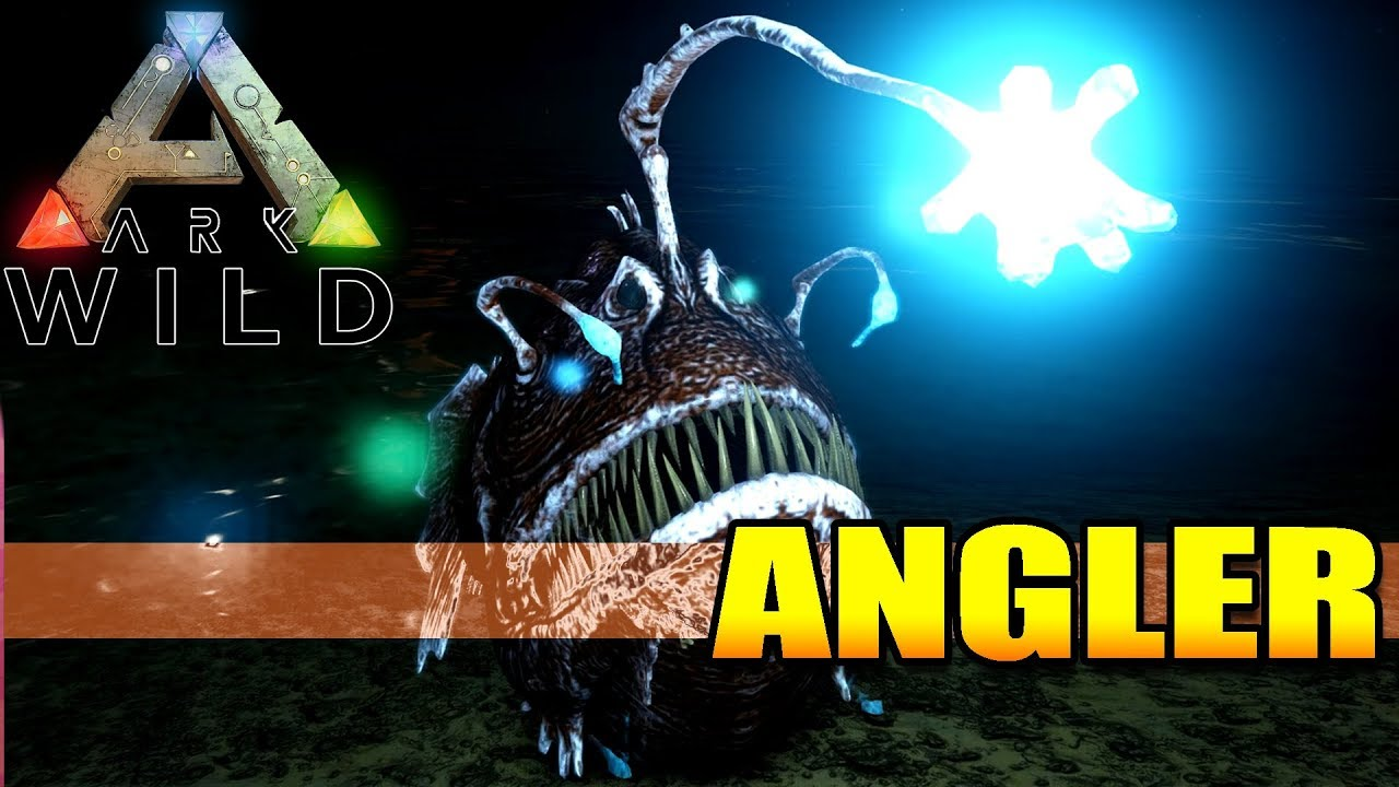 Ark wild angler fish the pearl farming torch for Angler fish ark