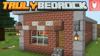 Truly Bedrock S1 : E4 - Semi-Automatic Cow Farm & Butcher Shop