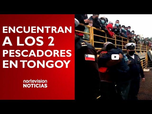 ENCUENTRAN A LOS 2 PESCADORES DESAPARECIDOS EN TONGOY