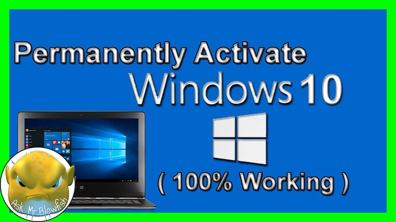 [HD] HOW TO ACTIVATE Windows 10 Without Product Key 2018 | SOFTWARE
