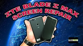 ZTE Blade Z Max Z982 How To Repair - Screen LCD Glass - Charging Port