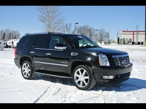 2011 Cadillac Escalade Luxury Awd Black For Sale Dealer