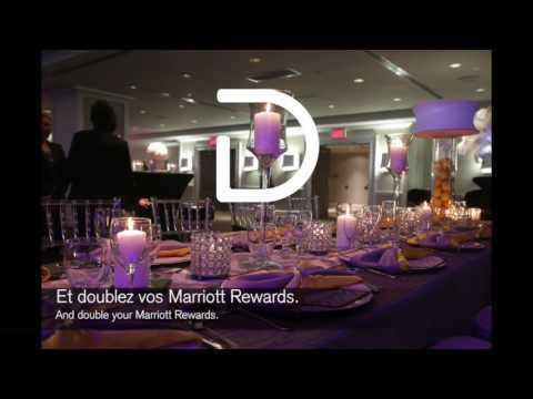 Les banquets de l'hôtel Delta Montréal