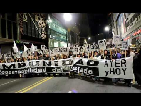 22ª Marcha del Silencio -  Uruguay - 20 de Mayo de 2017