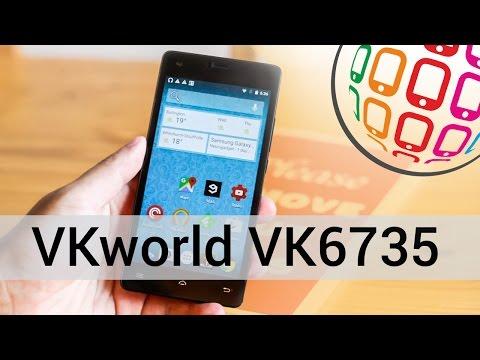 Обзор VKworld VK6735 - смартфон с мощной батареей