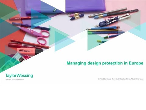 Managing design protection in Europe