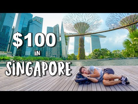 What Can $100 Get in SINGAPORE (World's Most Expensive Count
