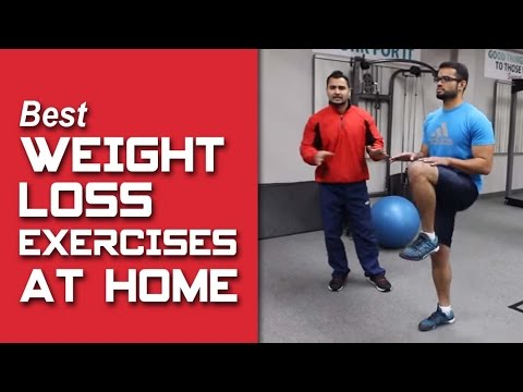 best weight loss exercises to do at home part2 hindi