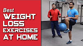 Best WEIGHT LOSS exercises to do at home