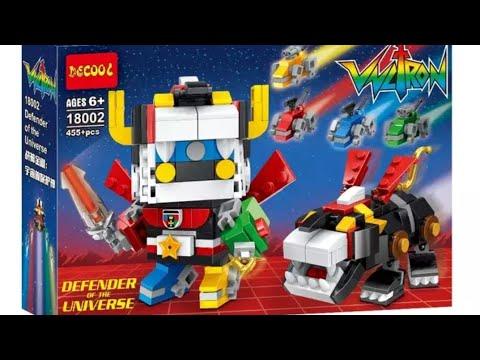 Decool Voltron Minifigure Bricks custom Blocks