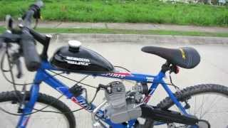 Demostración Bicimoto Bimex Spirit 80cc 2t