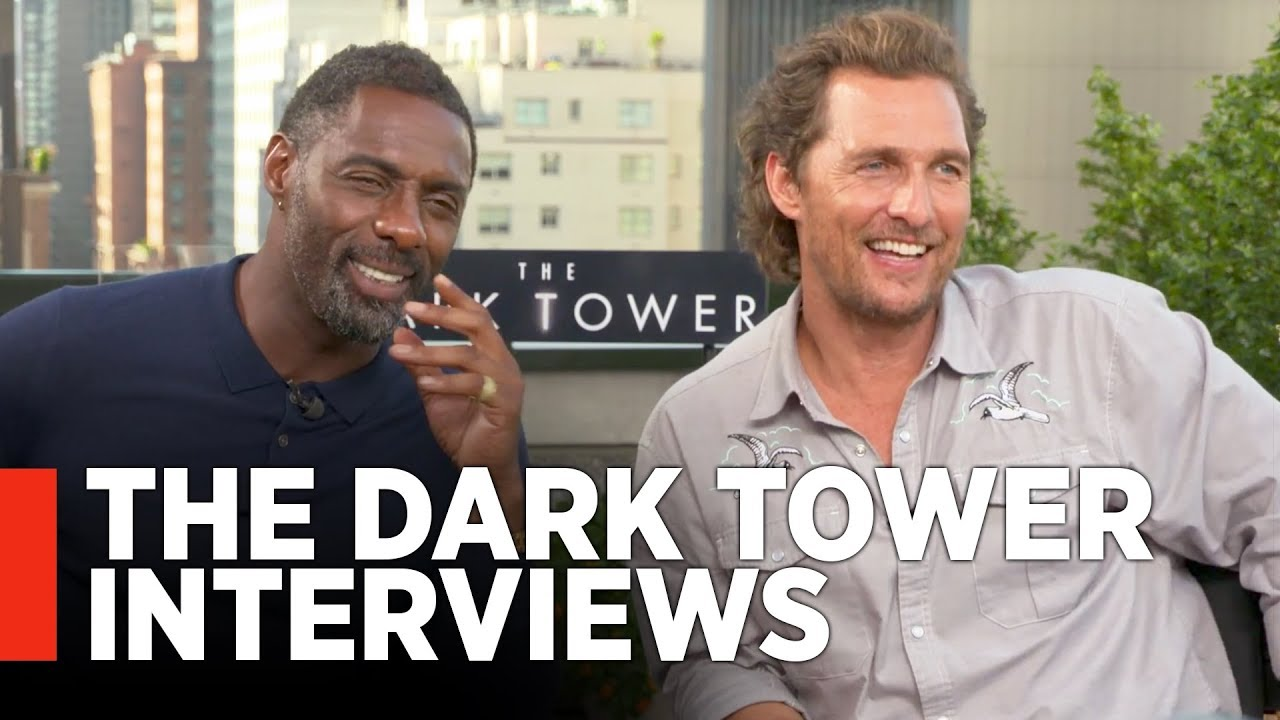 Idris Elba Films Dark Tower Scenes With Tom Taylor As Jake How Dark Tower Cast Built A New Universe From Pieces Of The Past