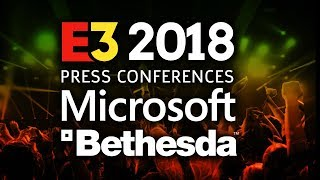 Microsoft Xbox and Bethesda E3 2018 Press Conferences Plus Reactions & Gameplay