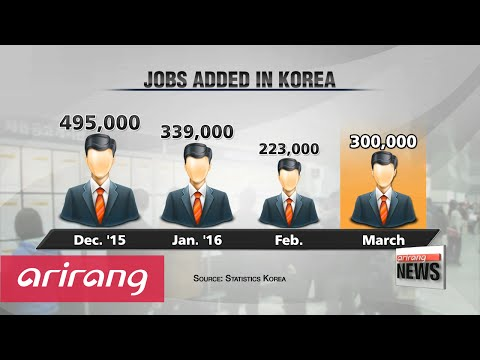 Korea's overall job growth picks up, but youth unemployment remains high