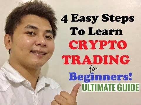 4 Easy Steps To Learn Crypto Trading – Ultimate Guide for Beginners (Tagalog)