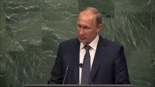 Самое важное из выступления В.В.Путина на пленарном заседании 70 й сессии Генеральной Ассамблеи ООН