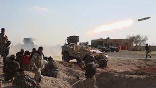 Raw: Fighting Continues Around Tikrit, Iraq