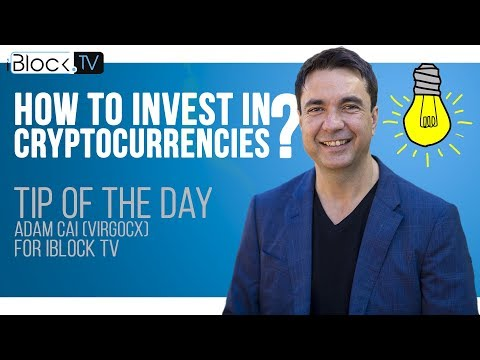 TIP FOR CRYPTO INVESTORS | ADAM CAI (VIRGO CX) FOR IBLOCK TV