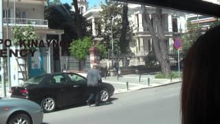 ГРЕЦИЯ: Едем в автобусе по Салоникам... THESSALONIKI GREECE(Смотрите всё путешествие на моем блоге http://anzor.tv/ Мои видео путешествия по миру http://anzortv.com/ Форум Свободных..., 2012-05-05T17:00:10.000Z)
