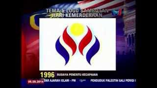 TEMA DAN LOGO SAMBUTAN HARI KEMERDEKAAN 1991 HINGGA 2011