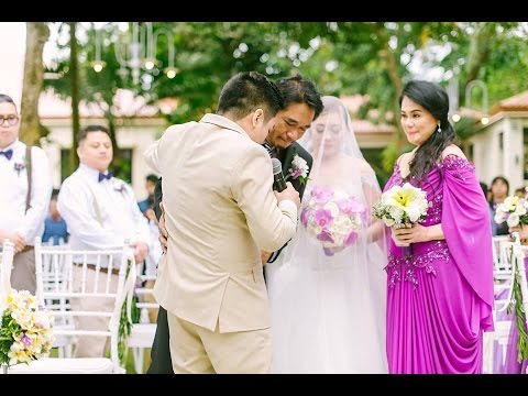 Singing Groom - Beautiful In White (Terence & Frances Wedding)