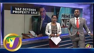 TVJ News: Vaz Defends Property Sales - April 30 2019