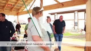 Обучение и шеф монтаж систем Claroflex® на Open Village 2017