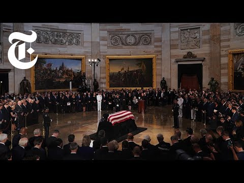 Full Video: McCain Tribute at U.S. Capitol | NYT News