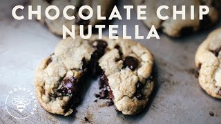 Decadent Chocolate Chip Cookies with NUTELLA Filling Recipe