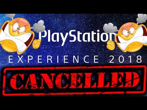 "PlayStation Experience 2018 CANCELLED PS5 Planning??? PSX 2018 ""Gaming News"""