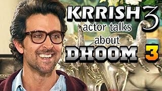 Krrish 3 - Hrithik Roshan talks about Aamir Khan
