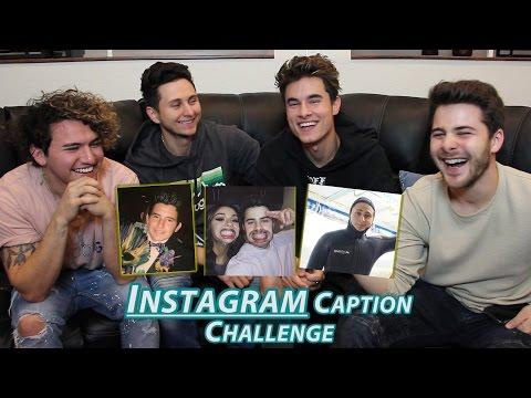 INSTAGRAM CAPTION CHALLENGE w/ Dominic Deangelis & Kian&Jc