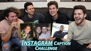 One of DavidAlvareeezy's most viewed videos: INSTAGRAM CAPTION CHALLENGE w/ Dominic Deangelis & Kian&Jc