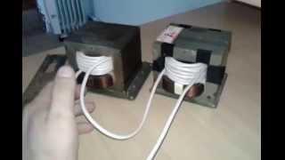 Обзор про сварочный трансформатор из микроволновки