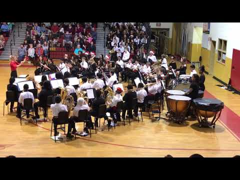 Stallings Island Middle School Grade 7 Holiday Band