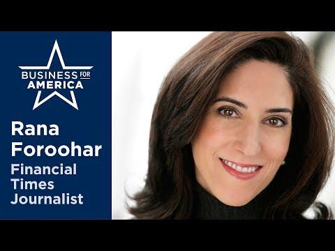 Journalist Rana Foroohar • Business for America