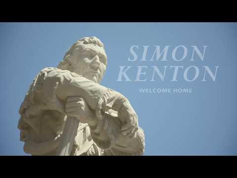 Simon Kenton Statue in Limestone Park