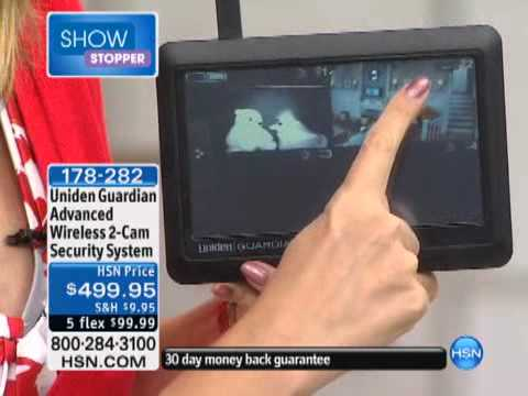 Uniden Guardian Advanced Wireless 2-Camera Security Syst...