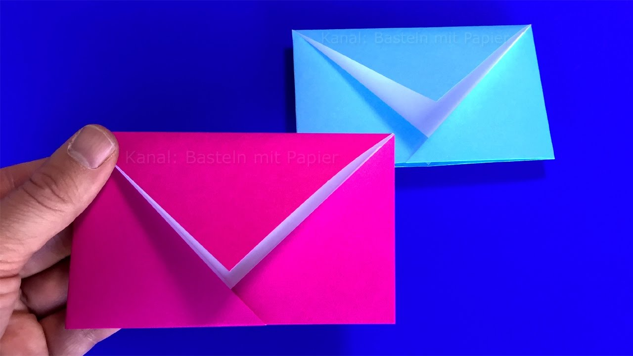 Falten Mit Papier Origami Envelope Easy Tutorial For Origami Envelopes Diy Crafts Ideas