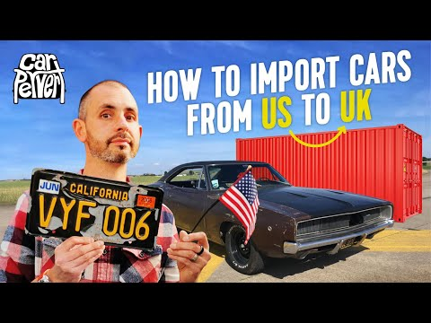 How to import a classic car yourself from the USA to UK