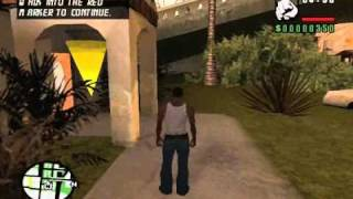 Grand Theft Auto San Andreas  - Sweet's And Ryder's House Interior