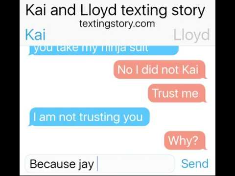 Kai and Lloyd texting story